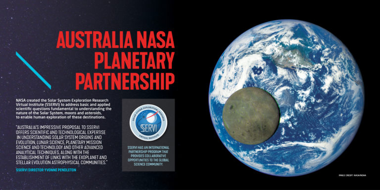 Australia NASA Planetary Partnership